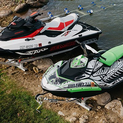 Buy Boat & Jet Ski (PWC) Shore Roller Ramps | Shore Docking Systems